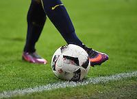 Fussball  1. Bundesliga  Saison 2016/2017  16. Spieltag  FC Bayern Muenchen - RB Leipzig        21.12.2016 Ball und Beine