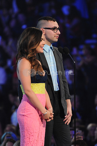 LAS VEGAS, NV - MAY 18: Lucy Hale and Jack Antonoff appear on the 2014 Billboard Music Awards at the MGM Grand Garden Arena on Sunday, May 18, 2014 in Las Vegas, Nevada. PgMicelotta/MediaPunch