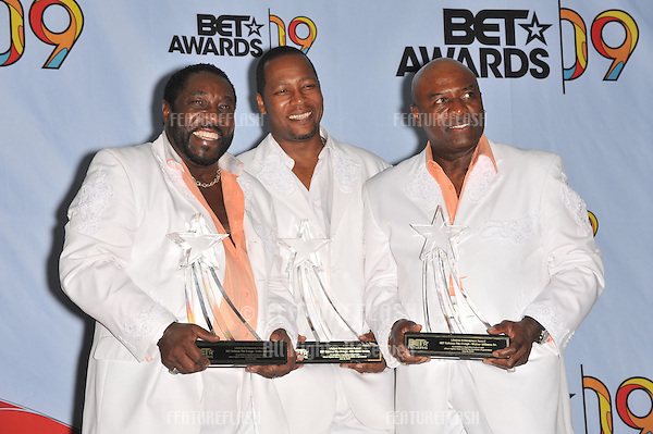 The O-Jays at the 2009 BET Awards (Black Entertainment Television) at the Shrine Auditorium..June 28, 2009  Los Angeles, CA.Picture: Paul Smith / Featureflash