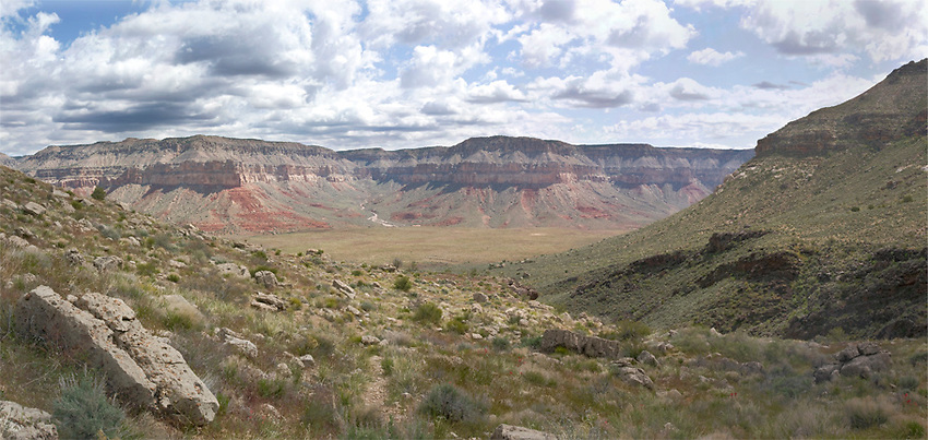 Tuckup Canyon is a massive tributary of the Colorado River in Grand Canyon. This singular side canyon is bigger than most other canyons on the Colorado Plateau!