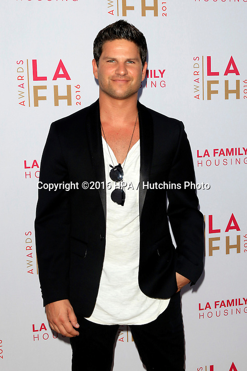 LOS ANGELES - APR 21:  Daniel Booko at the LA Family Housing Awards at the The Lot on April 21, 2016 in Los Angeles, CA