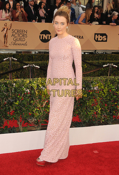 30 January 2016 - Los Angeles, California - Saoirse Ronan. 22nd Annual Screen Actors Guild Awards held at The Shrine Auditorium.      <br /> CAP/ADM/BP<br /> &copy;BP/ADM/Capital Pictures