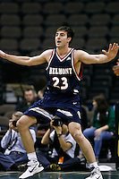 February 03, 2011:    Belmont Bruins forward/center Scott Saunders (23) during Atlantic Sun Conference action between the Jacksonville Dolphins and the Belmont Bruins at Veterans Memorial Arena in Jacksonville, Florida.  Belmont defeated Jacksonville 76-70.