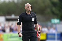 Referee Charles Breakspear during AFC Wimbledon vs Scunthorpe United, Sky Bet EFL League 1 Football at the Cherry Red Records Stadium on 15th September 2018