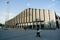 China Agricultural University Gymnasium, the venue of the wrestling events. Olympic Venues<br /> Olimpiadi Pechino 2008. Impianto Giochi Olimpici<br /> Foto Cspa/Insidefoto