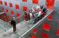 Rondleiding in het gebouw voor Beeld en Geluid iin Hilversum