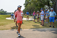 Celine Boutier (FRA) heads to the tee on 5 during round 4 of the 2019 US Women's Open, Charleston Country Club, Charleston, South Carolina,  USA. 6/2/2019.<br /> Picture: Golffile | Ken Murray<br /> <br /> All photo usage must carry mandatory copyright credit (© Golffile | Ken Murray)