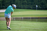 Mel Reid (ENG) watches her tee shot on 3 during round 3 of the 2018 KPMG Women's PGA Championship, Kemper Lakes Golf Club, at Kildeer, Illinois, USA. 6/30/2018.<br /> Picture: Golffile | Ken Murray<br /> <br /> All photo usage must carry mandatory copyright credit (&copy; Golffile | Ken Murray)