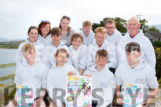 Colour Splash<br /> -------------------<br /> Pictured at the launch of Le Ch&eacute;ile Na N&oacute;g, 5km Colour Fun Run/Walk, which takes place on Sunday August 6th next, at 1pm, from Cloghane village to Brandon pier in aid of the local youth club last Monday evening were, front L-R Eoghan O Laighan, Finola Ni Chathasaigh, Thom&aacute;s O'Suilleabhain ages Conor O' Gr&aacute;inne, middle L-R Aine Mac C&aacute;rtha&iacute;gh, Seamus O Laighan, Siobhan N&iacute; Ciuleann&aacute;in ages Seamus Mac Giollad&eacute;, back L-R Shirley &Uacute;i chl&eacute;irigh, Michelle N&iacute; Caonghusa, Cian &Oacute; Gr&aacute;da ages Brian O Murch&uacute;.