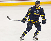 Johnathan Kovacevic (Merrimack - 8) - The visiting Merrimack College Warriors defeated the Boston College Eagles 6 - 3 (EN) on Friday, February 10, 2017, at Kelley Rink in Conte Forum in Chestnut Hill, Massachusetts.