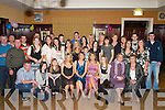 JOINT 21ST: Sarah Sheehan, Killorglin and Eimear Quirke, Milltown (seated centre), celebrated their 21st birthdays with a joint party in the Manor Inn, Killorglin, on Saturday night.   Copyright Kerry's Eye 2008