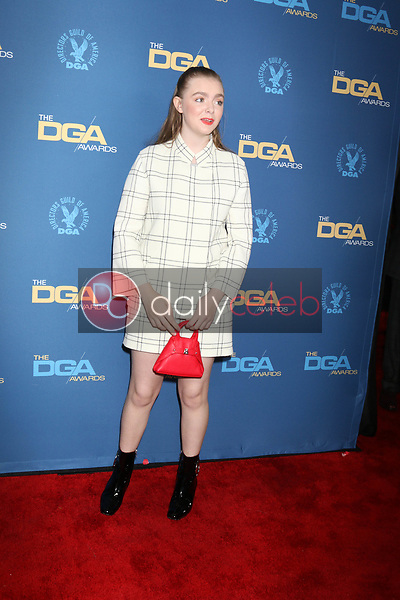 Elsie Fisher<br /> at the 71st Annual Directors Guild Of America Awards, Ray Dolby Ballroom, Hollywood, CA 02-02-19<br /> David Edwards/DailyCeleb.com 818-249-4998