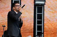 SÃO PAULO,SP, 07.11.2015 - FESTIVAL-PROMESSAS - Paulo Cesar Baruk durante o  Festival Promessas 2015, que acontece no Campo de Marte, zona norte de São Paulo, neste sábado, 7. (Foto: Douglas Pingituro/Brazil Photo Press)