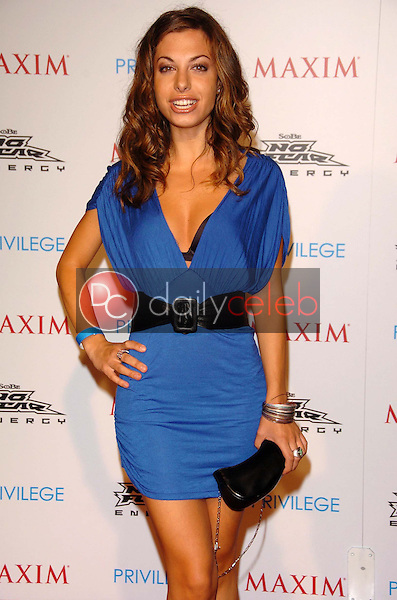 Meredith Giangrande<br />at the MAXIM Magazine and Sobe No Fear X Games Party. Privilege, West Hollywood, CA. 08-03-06<br />Scott Kirkland/DailyCeleb.Com 818-249-4998