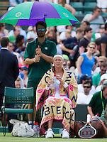 30-06-12, England, London, Tennis , Wimbledon,  Petra Kvitova