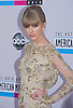 "TAYLOR SWIFT.attends the 40th American Music Awards, Nokia Theatre, Los Angeles_18/11/2012.Mandatory Photo Credit: ©Francis Dias/Newspix International..**ALL FEES PAYABLE TO: ""NEWSPIX INTERNATIONAL""**..PHOTO CREDIT MANDATORY!!: NEWSPIX INTERNATIONAL(Failure to credit will incur a surcharge of 100% of reproduction fees)..IMMEDIATE CONFIRMATION OF USAGE REQUIRED:.Newspix International, 31 Chinnery Hill, Bishop's Stortford, ENGLAND CM23 3PS.Tel:+441279 324672  ; Fax: +441279656877.Mobile:  0777568 1153.e-mail: info@newspixinternational.co.uk"