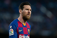 7th March 2020; Camp Nou, Barcelona, Catalonia, Spain; La Liga Football, Barcelona versus Real Sociedad;  Lionel Messi of FC Barcelona