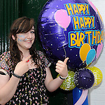 Niamh Sullivan pictured at the 1st birthday celebrations of Cake Couture on West street. Photo: www.colinbellphotos.com