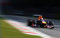 MONZA, ITALIA, 06.09.2013 - F1 - GP DE MONZA - TREINO LIVRE -  O piloto alemao Sebastian Vettel da equipe Red Bull durante o primeiro treino livre do GP da Itália de Fórmula 1, nesta sexta-feira(06), no circuito de Monza. A prova será realizada no próximo domingo.  (Foto: Pixathlon / Brazil Photo Press).