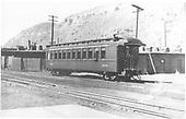 Coach #803 at Durango.<br /> D&amp;RGW  Durango, CO