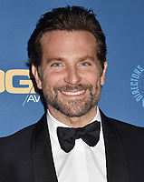 HOLLYWOOD, CA - FEBRUARY 02: Bradley Cooper  attends the 71st Annual Directors Guild Of America Awards at The Ray Dolby Ballroom at Hollywood & Highland Center on February 02, 2019 in Hollywood, California.<br /> CAP/ROT/TM<br /> ©TM/ROT/Capital Pictures