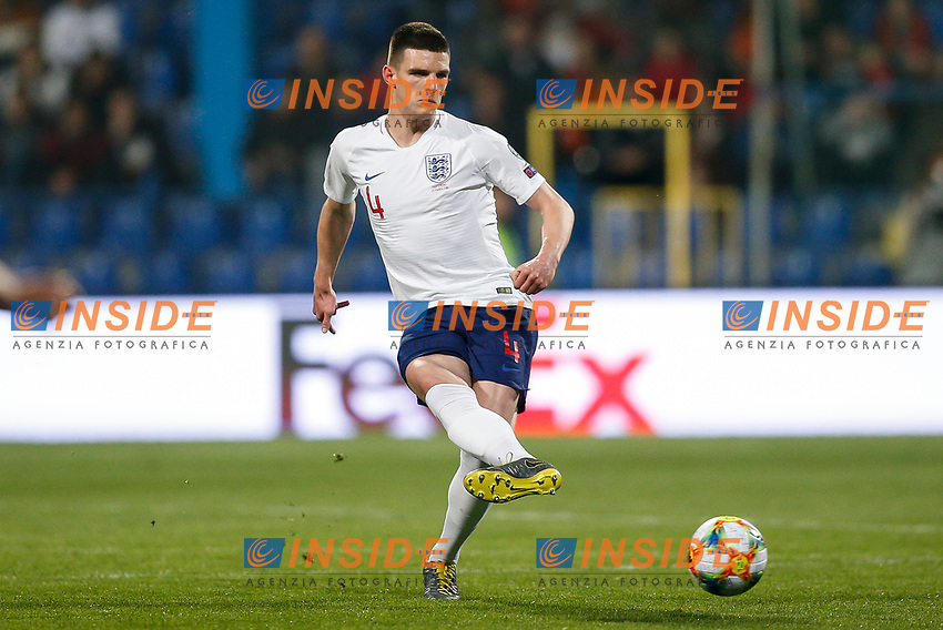 Declan Rice of England  <br /> Podgorica 25-3-2019 <br /> Football Euro2020 Qualification Montenegro - England <br /> Foto Daniel Chesterton / PHC / Insidefoto <br /> ITALY ONLY