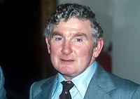 Frank Millar, Independent Unionist, member, N Ireland Assembly, October, 1982, 198210000166<br /><br />Copyright Image from Victor Patterson, 54 Dorchester Park, <br />Belfast, UK, BT9 6RJ<br /><br />t1: +44 28 9066 1296 (from Rep of Ireland 048 9066 1296)<br />t2: +44 28 9002 2446 (from Rep of Ireland 048 9002 2446)<br />m: +44 7802 353836<br /><br />victorpatterson@me.com<br />www.victorpatterson.com<br /><br />Please see my Terms and Conditions of Use at VICTORPATTERSON.COM. It is IMPORTANT that you familiarise yourself with them.<br /><br />Images used on the Internet must be visibly watermarked i.e. &copy;VICTORPATTERSON.COM within the body of the image and copyright metadata must not be deleted. Images used on the Internet have a size restriction of 4kbs and are chargeable at the then current NUJ rates.<br /><br />This image is only available for the use of the download recipient i.e. television station, newspaper, magazine, book publisher, etc, and must not be passed on to any third party. It is also downloaded on condition that each and every usage is notified within 7 days to victorpatterson@me.com<br /><br />The right of Victor Patterson to be identified as the author is asserted in accordance with The Copyright Designs And Patents Act (1988).
