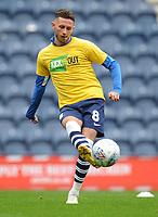 Preston North End's Alan Browne during the pre-match warm-up <br /> <br /> Photographer Kevin Barnes/CameraSport<br /> <br /> The EFL Sky Bet Championship - Preston North End v Barnsley - Saturday 5th October 2019 - Deepdale Stadium - Preston<br /> <br /> World Copyright © 2019 CameraSport. All rights reserved. 43 Linden Ave. Countesthorpe. Leicester. England. LE8 5PG - Tel: +44 (0) 116 277 4147 - admin@camerasport.com - www.camerasport.com