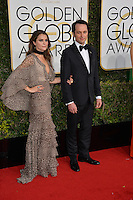 Keri Russell &amp; Matthew Rhys at the 74th Golden Globe Awards  at The Beverly Hilton Hotel, Los Angeles USA 8th January  2017<br /> Picture: Paul Smith/Featureflash/SilverHub 0208 004 5359 sales@silverhubmedia.com