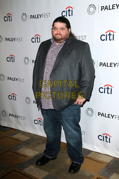 HOLLYWOOD, CA - March 16: Jorge Garcia at the &quot;Lost&quot; 10 Year Anniversary at the 31st PALEYFEST, Dolby Theater, Hollywood,  March 16, 2014. <br /> CAP/MPI/JO<br /> &copy;Janice Ogata/MediaPunch/Capital Pictures