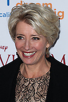 "BURBANK, CA - DECEMBER 09: Emma Thompson arriving at the U.S. Premiere Of Disney's ""Saving Mr. Banks"" held at Walt Disney Studios on December 9, 2013 in Burbank, California. (Photo by Xavier Collin/Celebrity Monitor)"