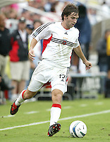 26 June 2004:   DC United Bobby Convey in action against Dallas Burn at Cotton Bowl in Dallas, Texas.   DC United and Dallas Burn are tied 1-1 after the game.   Credit: Michael Pimentel / ISI