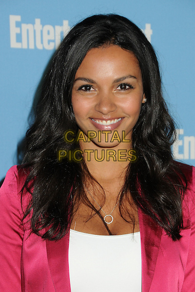 Jessica Lucas.Entertainment Weekly's Comic-Con 2012 Celebration held at the Hard Rock Hotel Float Lounge, San Diego, California, USA..July 14th, 2012.headshot portrait pink jacket white top.CAP/ADM/BP.©Byron Purvis/AdMedia/Capital Pictures.