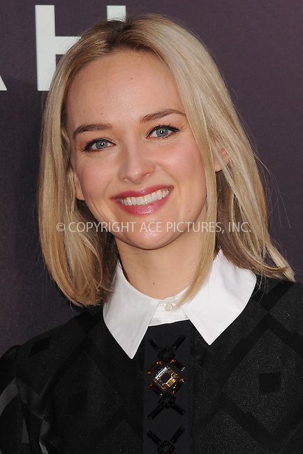 WWW.ACEPIXS.COM<br /> March 26, 2014 New York City<br /> <br /> Jess Weixler attending the 'Noah' New York premiere at Ziegfeld Theatre on March 26, 2014 in New York City.<br /> <br /> Please byline: Kristin Callahan<br /> <br /> ACEPIXS.COM<br /> <br /> Tel: (212) 243 8787 or (646) 769 0430<br /> e-mail: info@acepixs.com<br /> web: http://www.acepixs.com