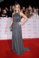 Charlotte Hawkins<br /> arriving for the National Television Awards 2018 at the O2 Arena, Greenwich, London<br /> <br /> <br /> ©Ash Knotek  D3371  23/01/2018