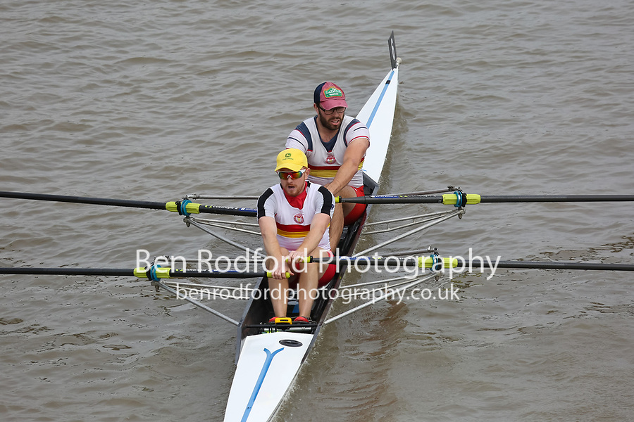 Crew: 6   TSS-WILKOJC    Tideway Scullers School    Op 2x Champ <br /> <br /> Pairs Head 2017<br /> <br /> To purchase this photo, or to see pricing information for Prints and Downloads, click the blue 'Add to Cart' button at the top-right of the page.