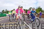 NA GAEIL CYCLE: The start of the Na Gaeil GAA fundraising family cycle on Saturday.