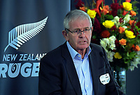 ARC chairman John Palmer. The 2019 New Zealand Rugby Annual General Meeting at the New Zealand Rugby House in Wellington, New Zealand on Wednesday, 17 April 2019. Photo: Dave Lintott / lintottphoto.co.nz