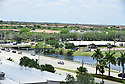 PEMBROKE PINES, FL - May 08: General view of C.B. Smith Park test site before the U.S. Navy Blue Angels fly over Broward County Memorial Hospital West and C.B. Smith Park test site for COVID-19 on May 08, 2020 in Pembroke Pines, Florida. The Blue Angels took to the sky to pay tribute to the COVID-19 front line responders and essential workers with formation flights.  ( Photo by Johnny Louis / jlnphotography.com )