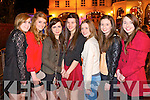 Pictured in Killarney on New Year's Eve were l-r: Heather O'Sullivan Milltown, Caitriona Cronin (Fossa) Katie Groves (Ballyhar/Firies) Paige O'Connor (Milltown) Sara Fitzgerald (Firies) Aine O'Connor (Firies) and Brid Kerrisk (Ballyhar).