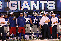 DT Markus Kuhn (#78, Giants, D) ist bei den New York Giants