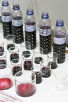 Samples in the lab herdade da mingorra alentejo portugal