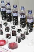 Samples in the lab herdade da mingorra alentejo portugal
