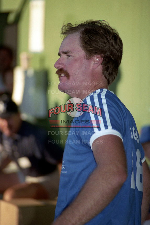 Wade Boggs during the 1989 Wade Boggs Celebrity Weekend to benefit multiple sclerosis at Al Lang Stadium in St. Petersburg, Florida.  (MJA/Four Seam Images)