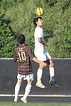 Palos Verdes, CA 02/09/12 - Tony Bumatay (Peninsula #5) in action during the West vs Peninsula Bay League boys varsity soccer game.