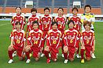 INAC Kobe Leonessa team group line-up, MAY 7th, 2011 - Football : Plenus Nadeshiko League 2011 between NTV Beleza 0-2 INAC Kobe Leonessa at Komazawa Stadium, Tokyo, Japan. (Photo by YUTAKA/AFLO SPORT) [1040]