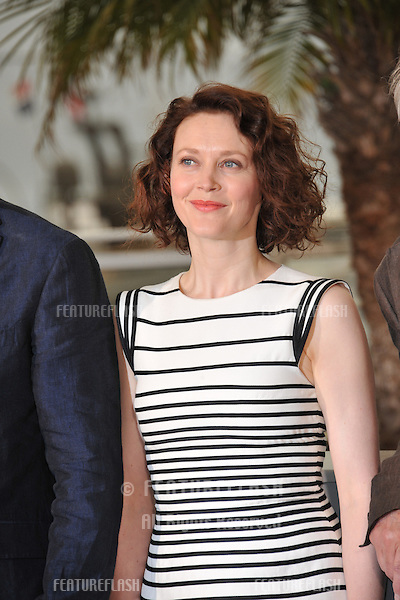 Simone Kirby at the photocall for her movie &quot;Jimmy's Hall&quot; at the 67th Festival de Cannes.<br /> May 22, 2014  Cannes, France<br /> Picture: Paul Smith / Featureflash