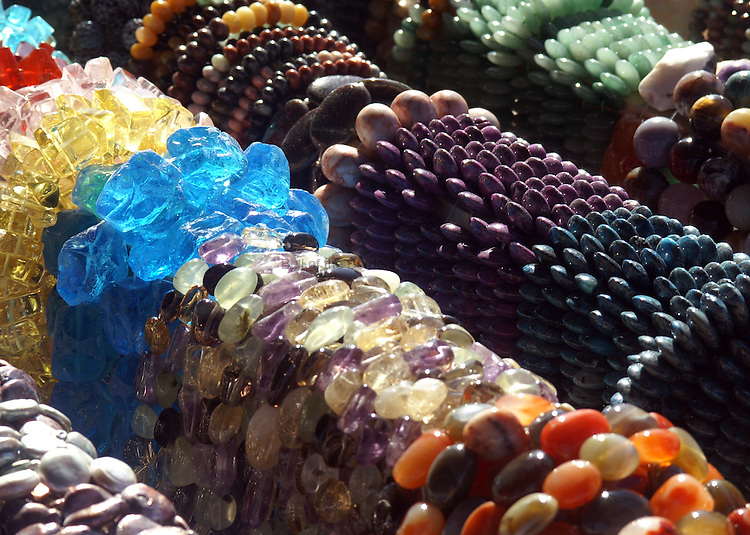 eye candy at a bead show