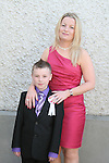 Daniel Jones with Lynn McBride at the Walshestown NS Communion in St.Pauls Church...Photo NEWSFILE/Jenny Matthews.(Photo credit should read Jenny Matthews/NEWSFILE)....This Picture has been sent you under the condtions enclosed by:.Newsfile Ltd..The Studio,.Millmount Abbey,.Drogheda,.Co Meath..Ireland..Tel: +353(0)41-9871240.Fax: +353(0)41-9871260.GSM: +353(0)86-2500958.email: pictures@newsfile.ie.www.newsfile.ie.FTP: 193.120.102.198.