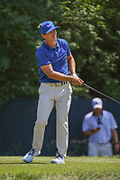 Thorbjorn Olesen (DEN) watches his tee shot on 9 during 3rd round of the 100th PGA Championship at Bellerive Country Club, St. Louis, Missouri. 8/11/2018.<br /> Picture: Golffile | Ken Murray<br /> <br /> All photo usage must carry mandatory copyright credit (&copy; Golffile | Ken Murray)